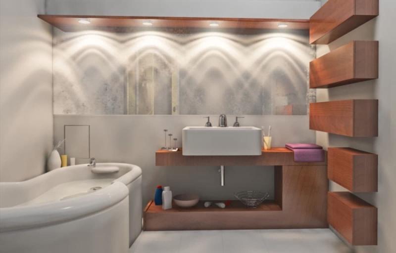Дизайн ванной 6-7 кв.м 9