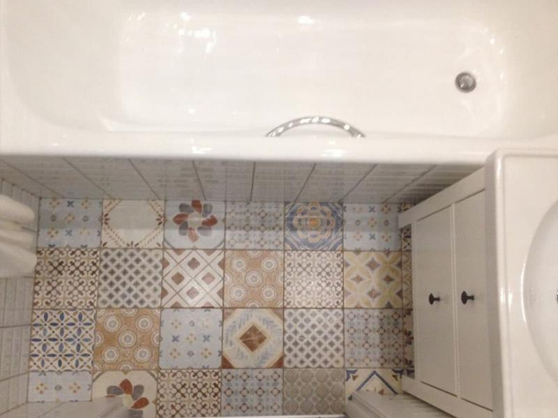 Дизайн ванной комнаты 2 кв. м 1