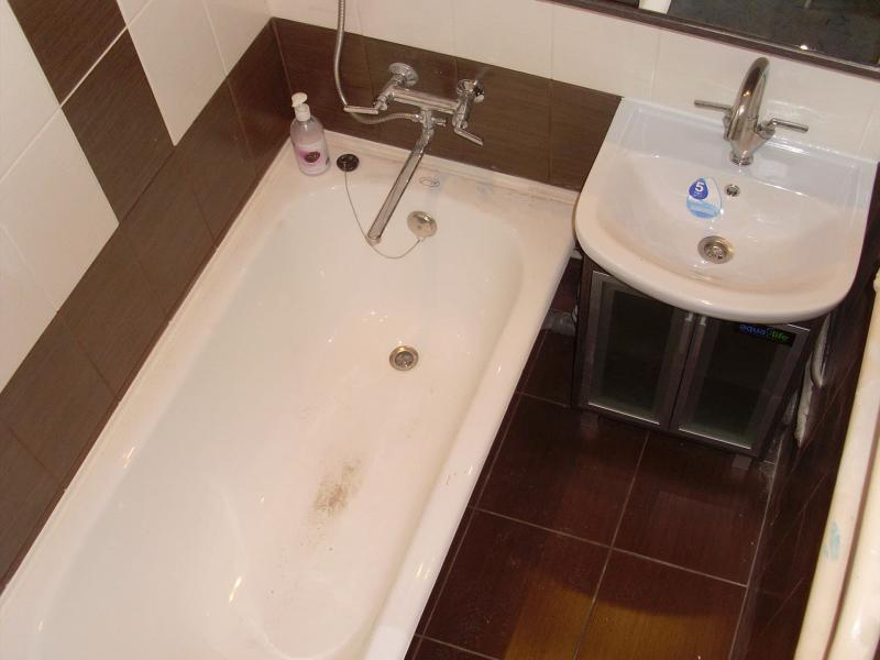 Дизайн ванной комнаты 2 кв. м 2
