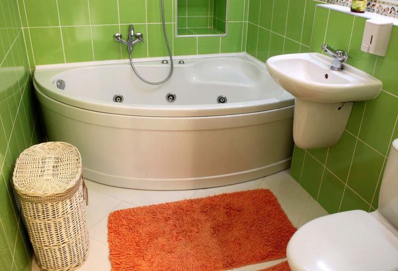 Дизайн ванной комнаты 4 кв.м 4