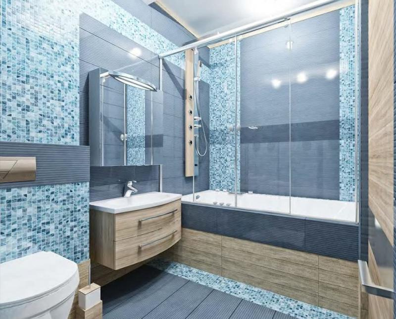 Дизайн ванной комнаты 5 кв.м 6