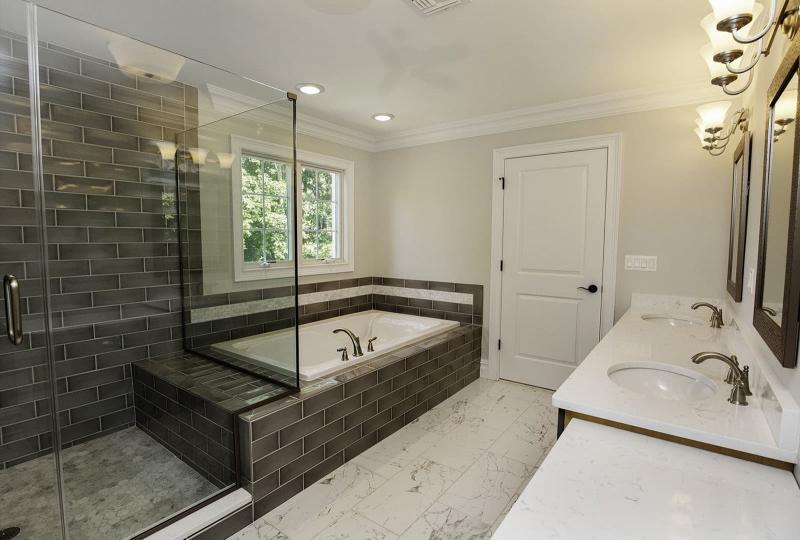 Интерьер ванной без туалета 4