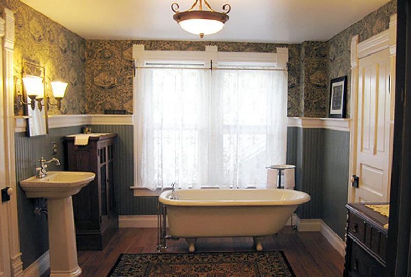 Интерьер ванной комнаты без туалета 3