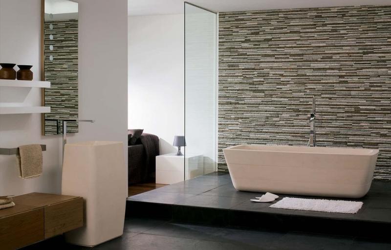Отделочные материалы класса Люкс для ванной 5