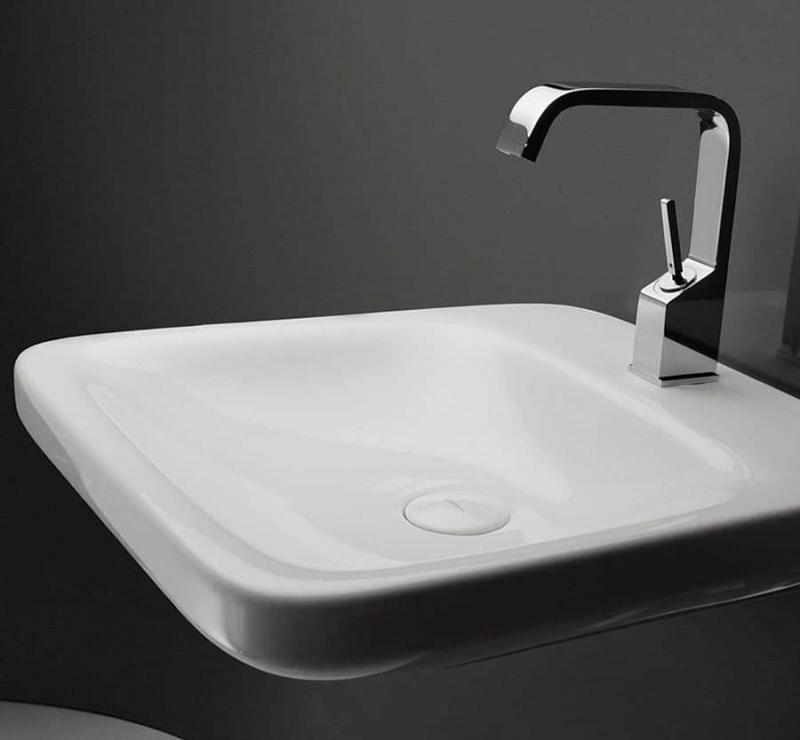 Раковина в интерьере ванной 2017 1