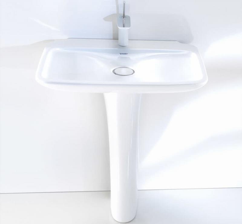 Раковина в интерьере ванной 2017 5
