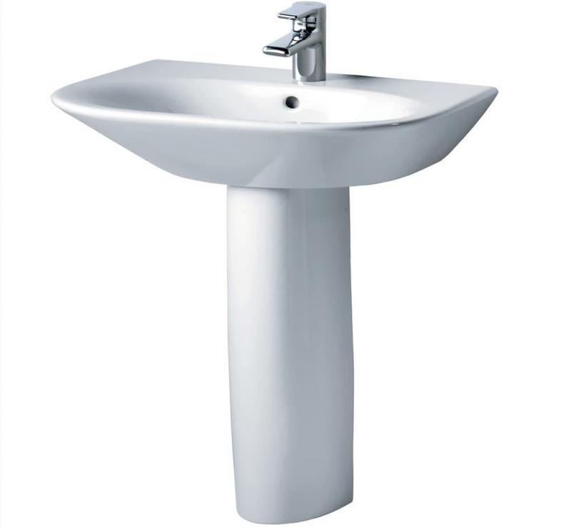 Раковина в интерьере ванной 2017 6