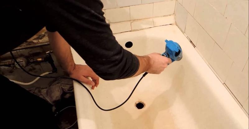 Сокращаем расходы - реставрация ванной