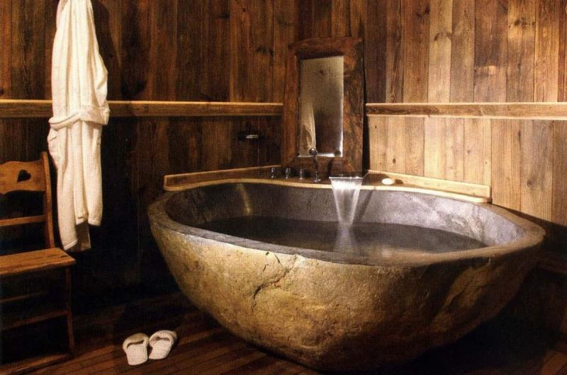 Ванная из эко-материалов 2