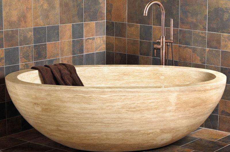 Ванная из эко-материалов 3
