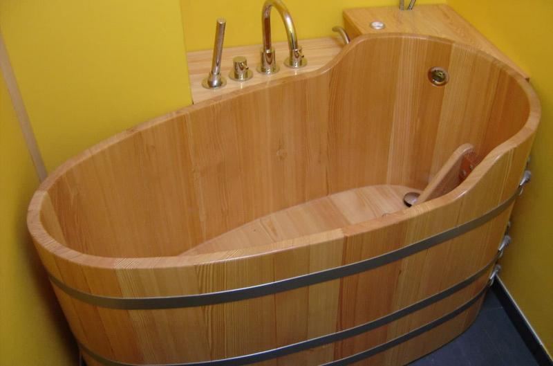 Ванная из эко-материалов 7