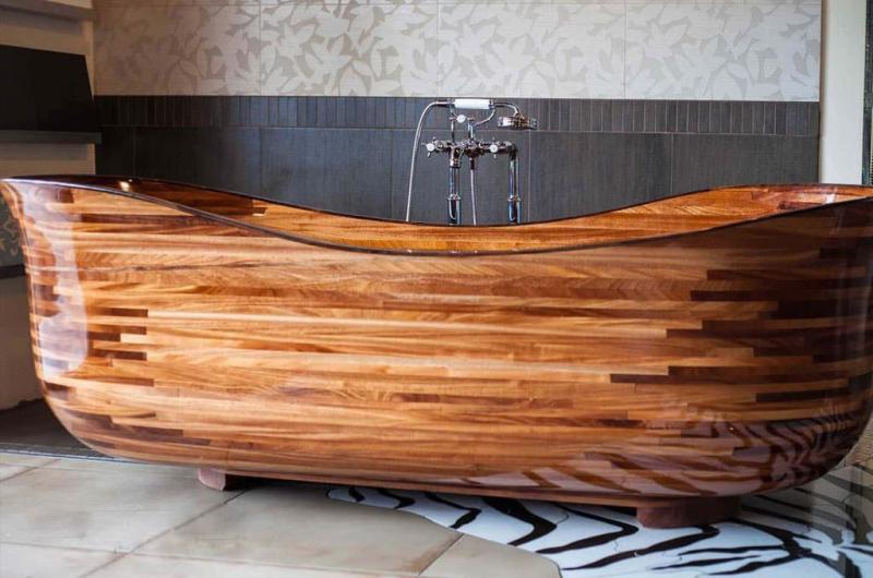 Ванная из эко-материалов 9