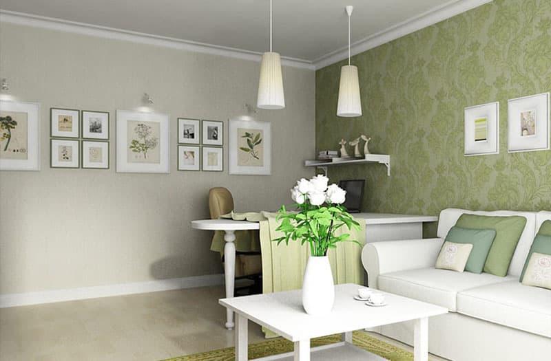 Дизайн однокомнатной квартиры 1