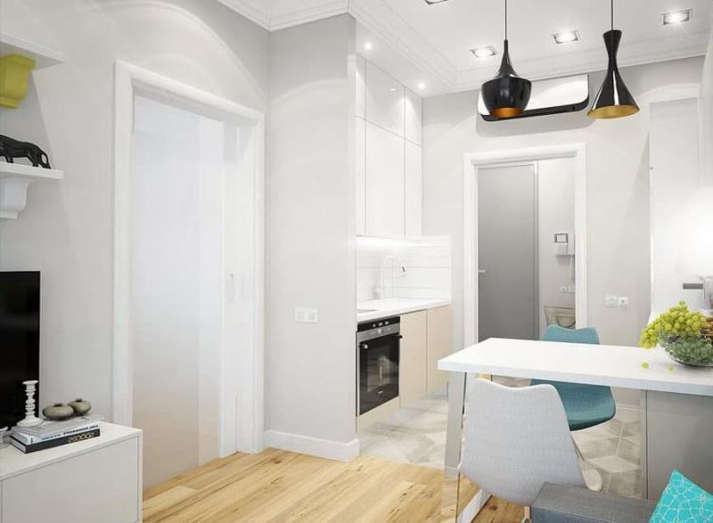 Интерьер двухкомнатной квартиры 1