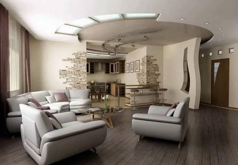 Интерьер квартиры-студии 1