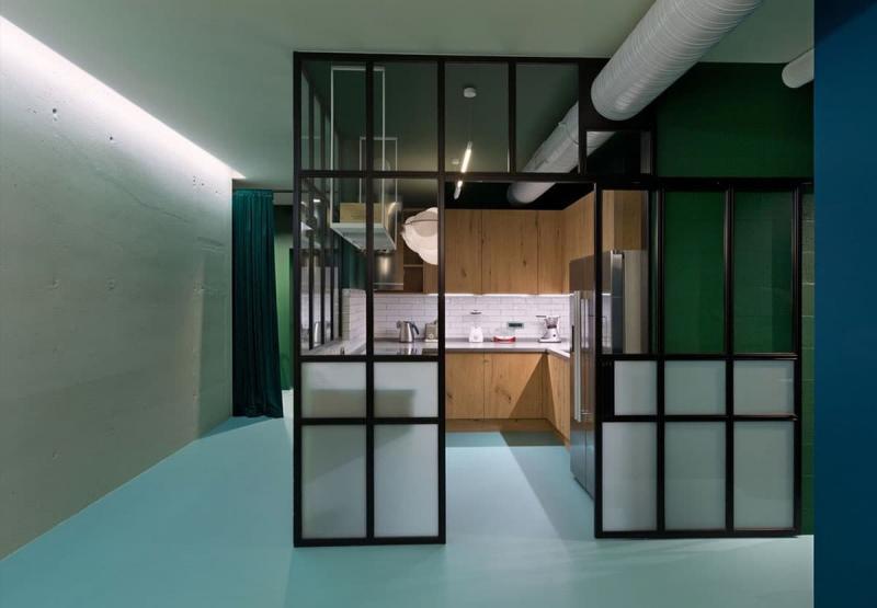 Интерьер квартиры-студии 7