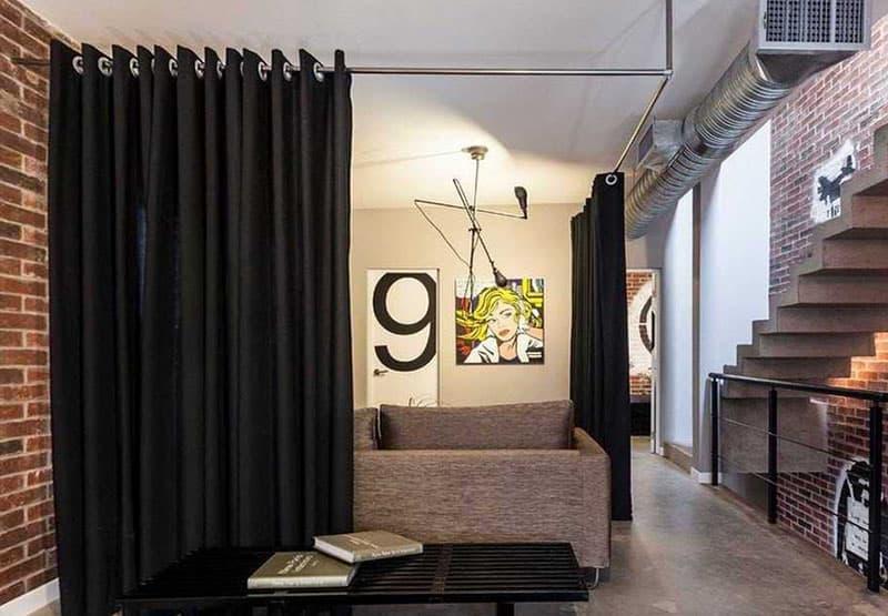 Интерьер квартиры-студии 9