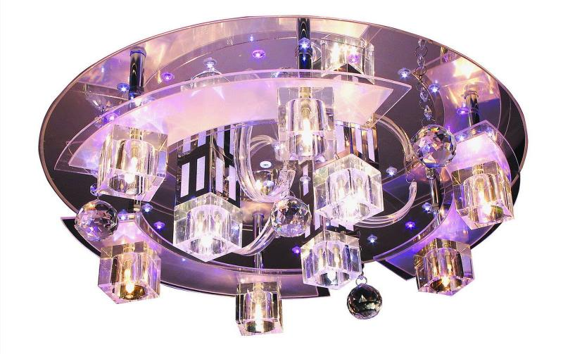 Необычные светильники из стекла 7