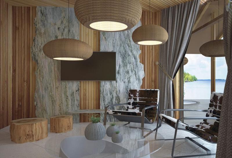 Светильники из эко-материалов 1