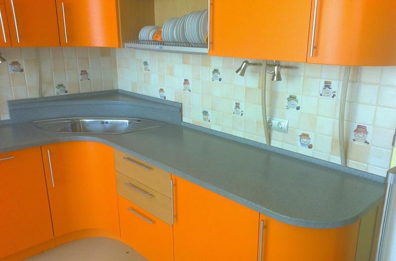 Столешница для угловой кухни 1