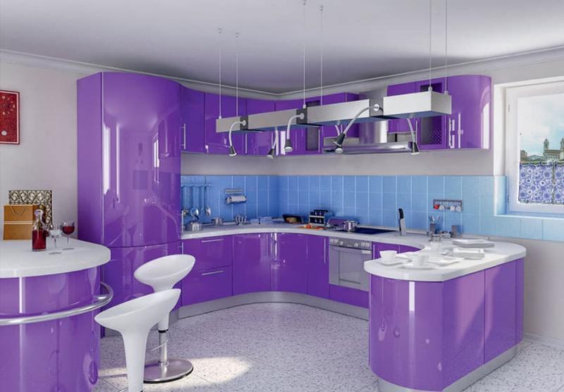 Угловая кухня 10-12 кв.м 3