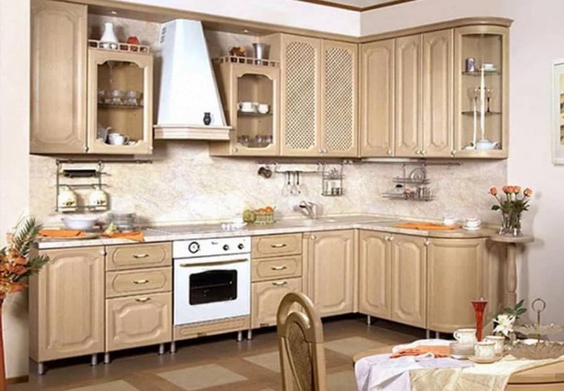 Угловая кухня 10-12 кв.м 4