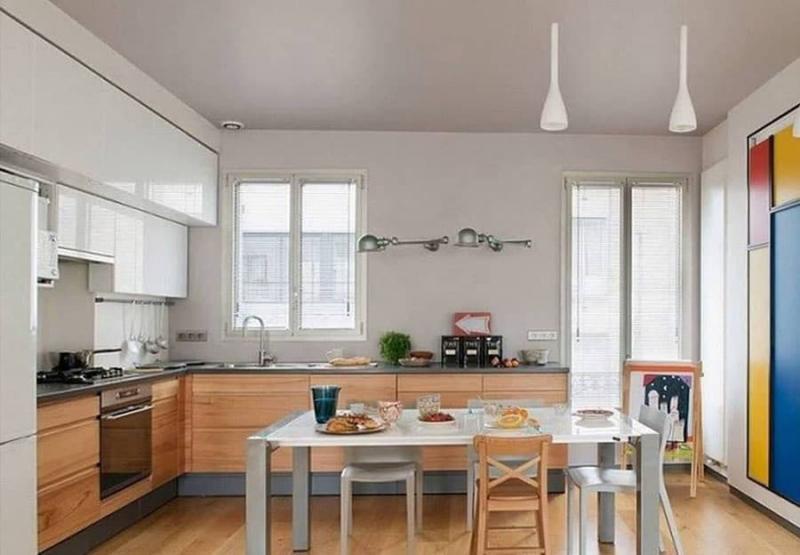Угловая кухня 10-12 кв.м 5