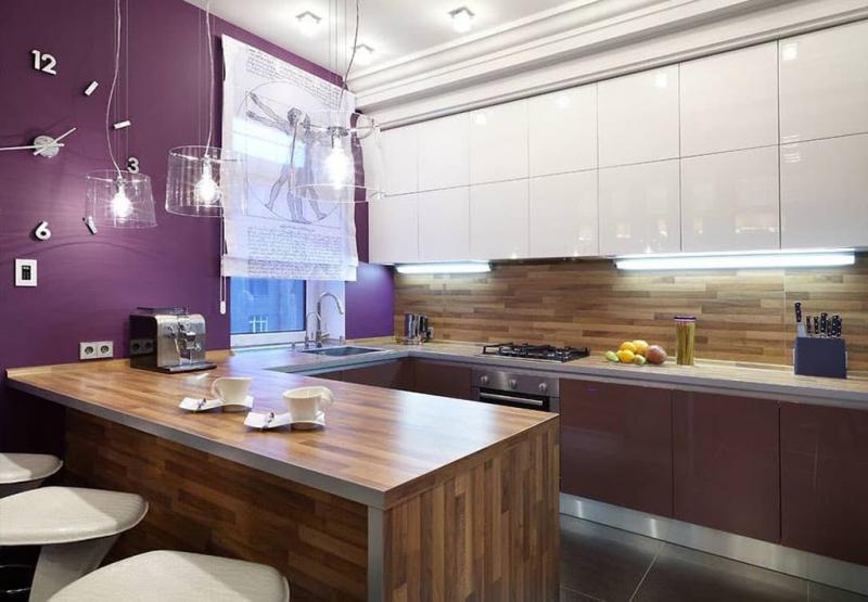 Угловая кухня 10-12 кв.м 6