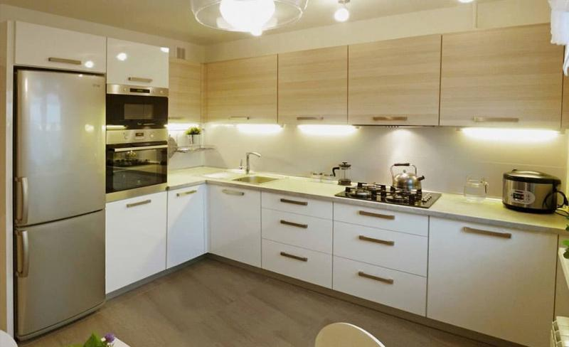 Угловая кухня 10 кв.м 1