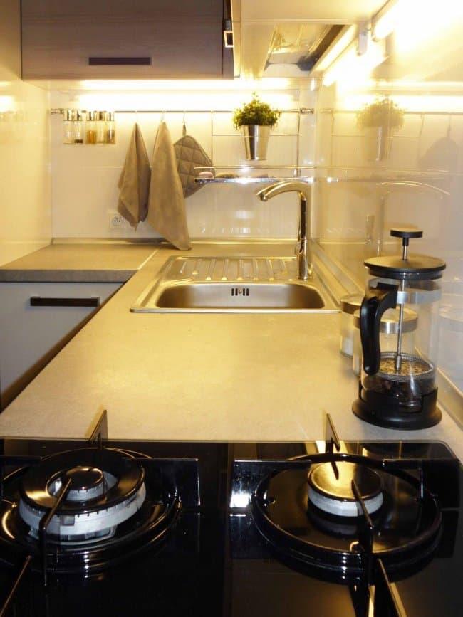Угловая кухня 10 кв.м 2