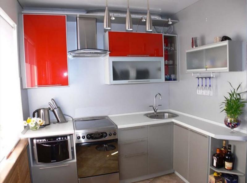 Угловая кухня 6-7 кв. м 1
