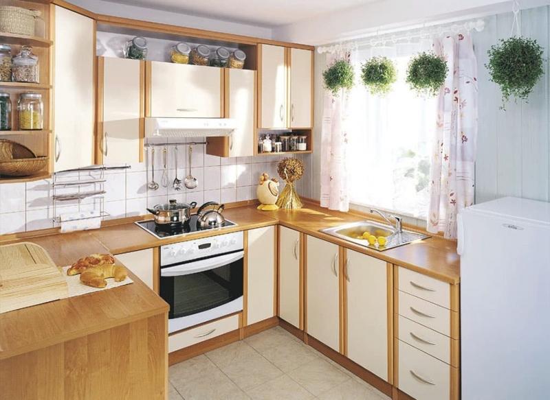 Угловая кухня 8-9 кв. м 1