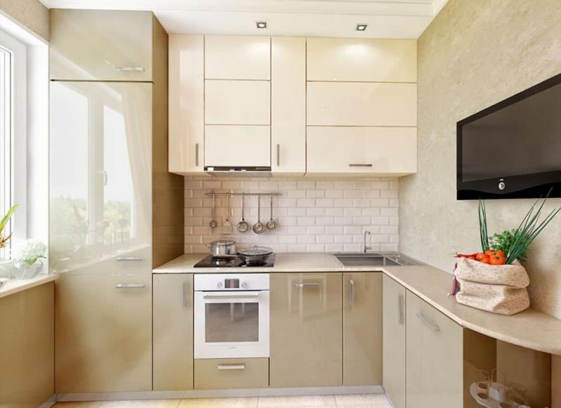 Угловая кухня 8-9 кв. м 3