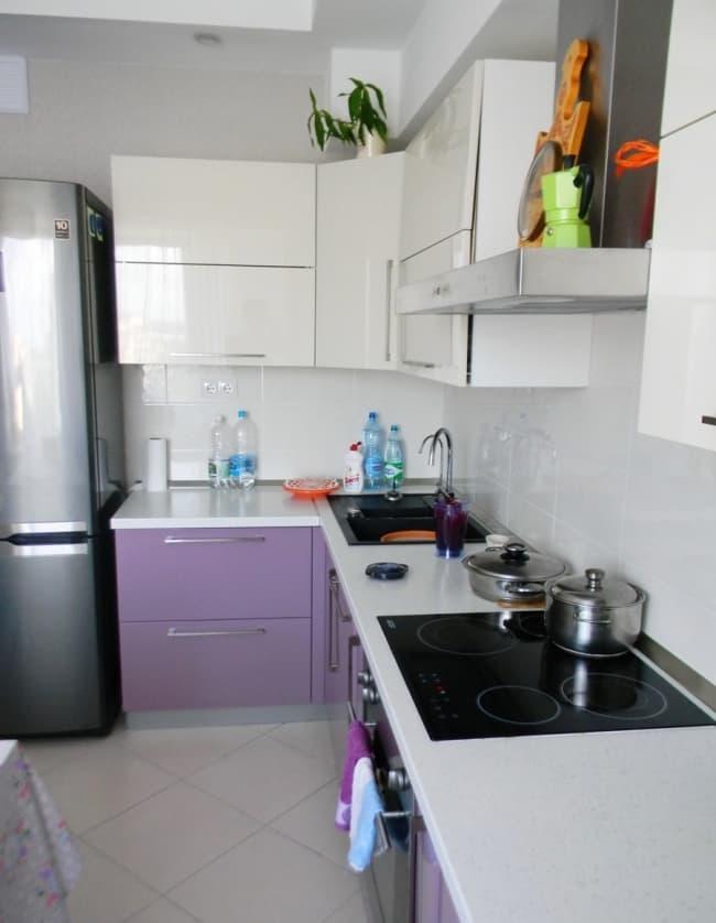 Угловая кухня 9 кв.м 1