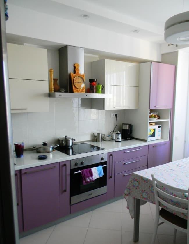 Угловая кухня 9 кв.м 2