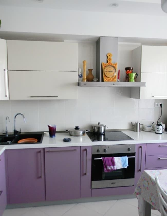 Угловая кухня 9 кв.м 3