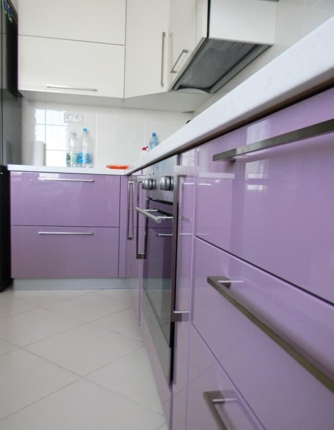 Угловая кухня 9 кв.м 4