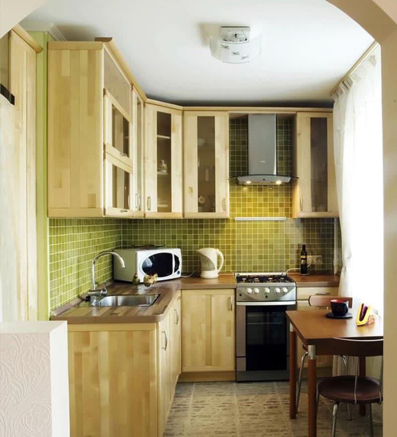 Угловая кухня до 6 кв.м 1