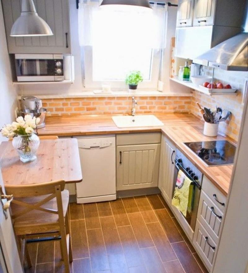 Угловая кухня до 6 кв.м 2
