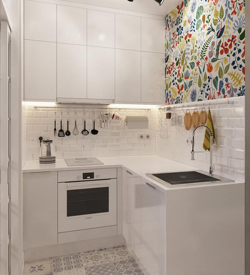 Угловая кухня до 6 кв.м 3