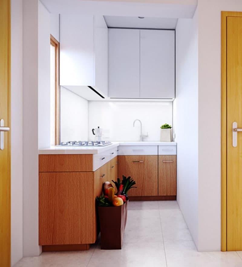 Угловая кухня до 6 кв.м 4