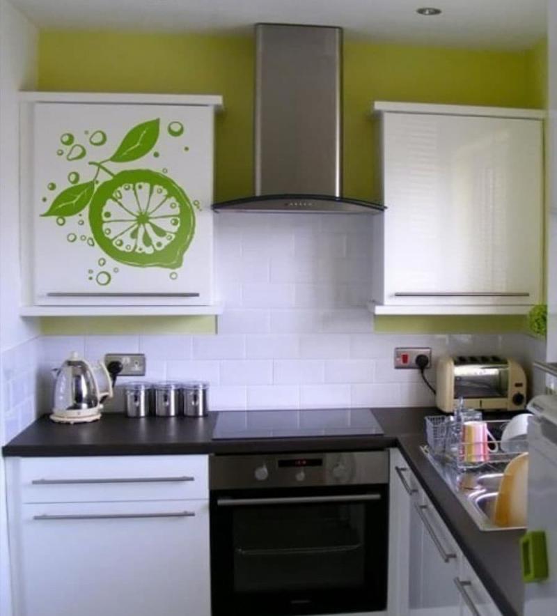 Угловая кухня до 6 кв.м 6