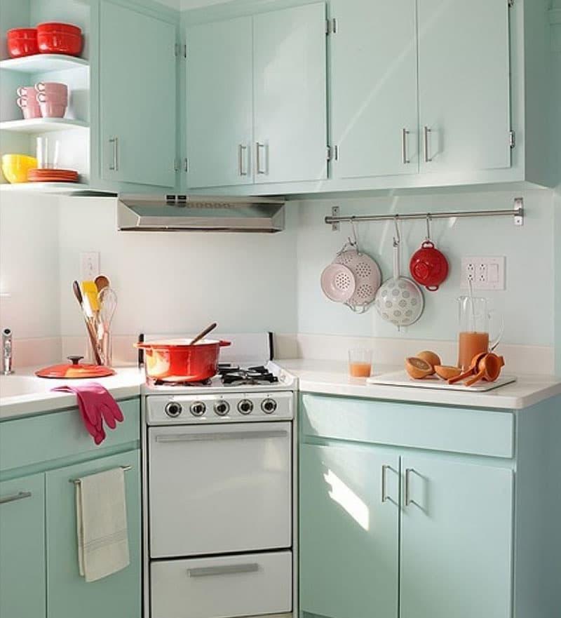 Угловая кухня до 6 кв.м 7