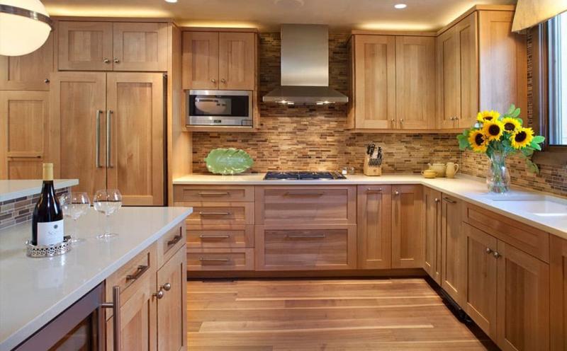 Угол в угловой кухне 8
