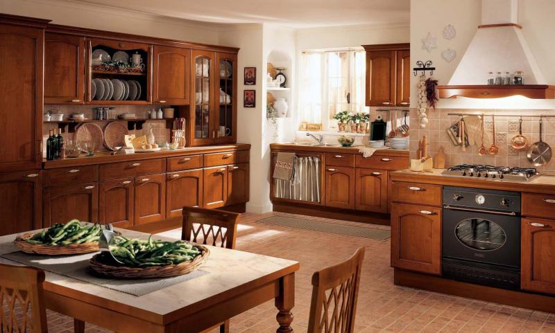 Дизайн кухни в классическом стиле - фото 1