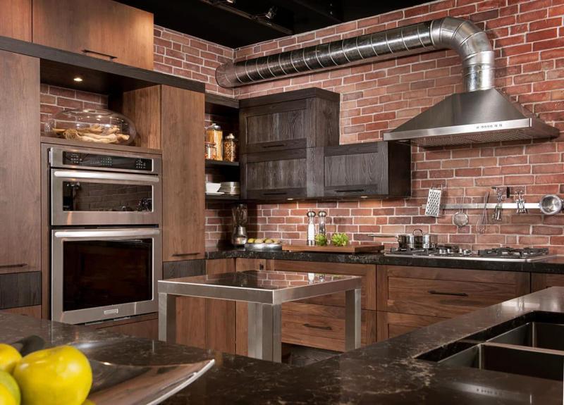 Кухня в стиле лофт - фото 2