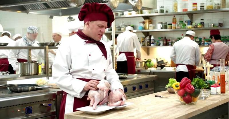 Кадр из сериала Кухня