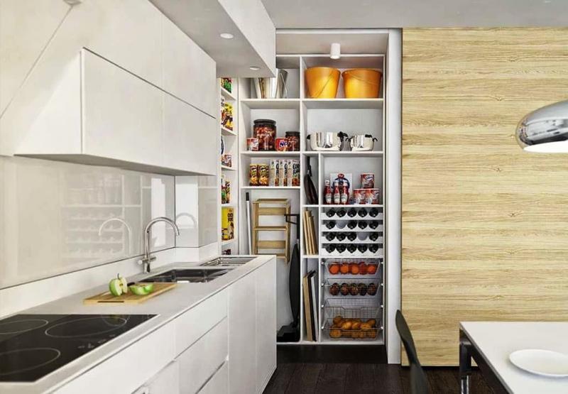 Кладовка на кухне 2