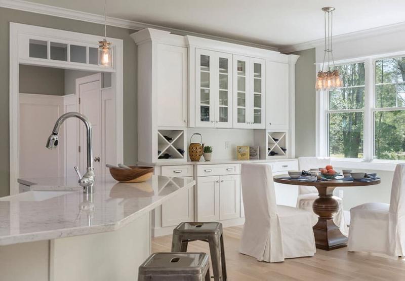 Кухня в белом цвете 1