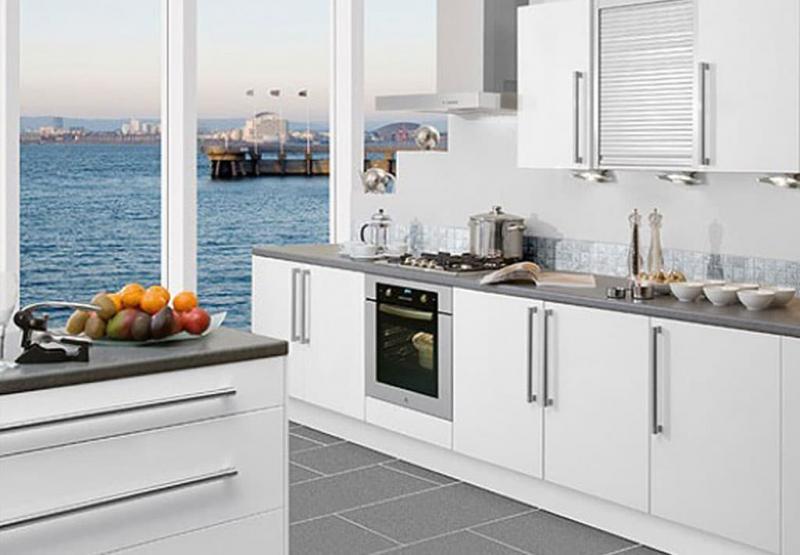 Кухня в белом цвете 5
